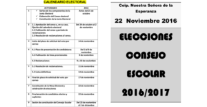eleccionesconsejoescolar2016
