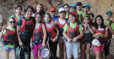 Acampada de 4º en Las Lomas