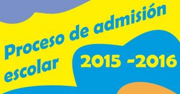 Plazo de admisión de alumnos hasta el 30 de abril