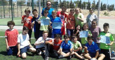Nuestros alumnos de 6º participan en pruebas de atletismo