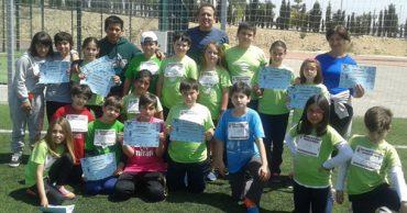 Nuestros alumnos de 4º participan en una jornada de atletismo
