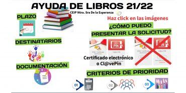 Ayuda de libros 2021/22