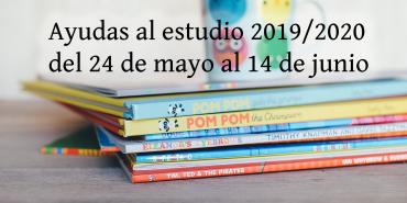 Ayudas al estudio 2019/2020