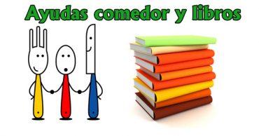Ayudas de libros y comedor escolar