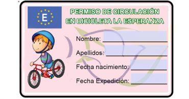 Entrega de carnés de conducción de bicicletas
