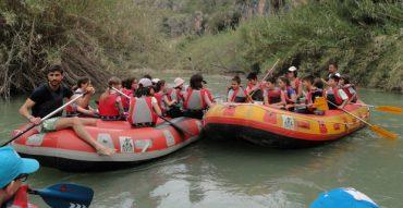 Descenso del río Segura y acampada