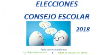 Resultados de las elecciones al Consejo Escolar 2018
