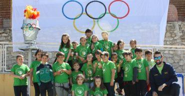 Los alumnos de 1º y 2º compiten en la segunda jornada olímpica