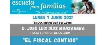 Escuela para familias: «El Fiscal contigo»