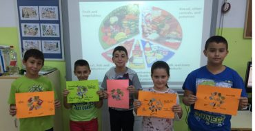 Food Wheels en 4º