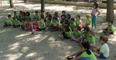 Los alumnos de Infantil en la granja escuela Planeta Balú en La Alberca