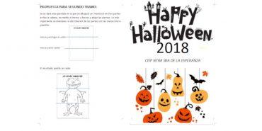 Actividades de Halloween 2018