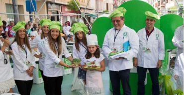 Adriana Martínez, de 3ºA, genadora del concurso Huerta Chef