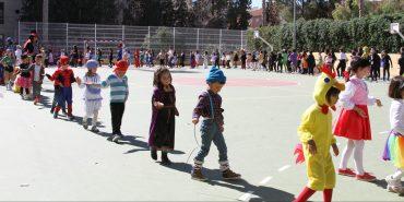 Fiesta de carnaval en nuestro colegio