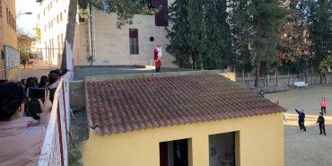 Visita de Papá Noel a La Esperanza
