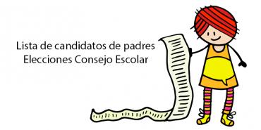 Candidaturas de padres para las Elecciones al Consejo Escolar 2018