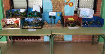 Alumnos de sexto elaboran maquetas de ecosistemas