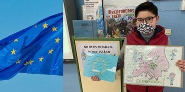 Daniel Ortega Montoya de 4ºA, premiado en el concurso «Mi Pueblo Europa»