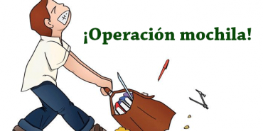 Vuelve la operación mochila