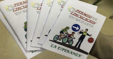 """Carnet de bicicleta """"La Esperanza"""""""