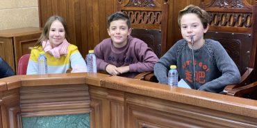 Pleno Infantil en el ayuntamiento
