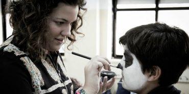 Nuestra antigua alumna Rocío López Prieto nos enseña maquillaje de terror