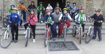 Con la bici al Santuario