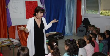 Violeta Monreal visitó nuestro colegio
