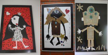 La magia de Violeta Monreal en las paredes de nuestro colegio
