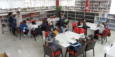 Visita a la biblioteca municipal
