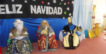 Recibimos la visita de SSMM Los Reyes Magos de Oriente