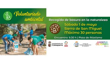 Voluntariado ambiental en Calasparra