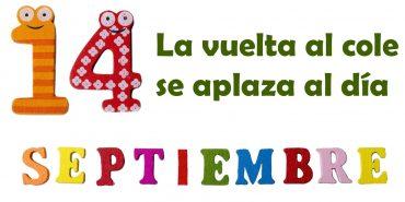 La «vuelta al cole» se aplaza al 14 de septiembre en toda la Región