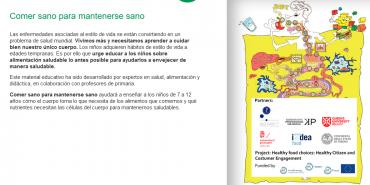Elecciones de comida saludable: Ciudadanos Sanos y Compromiso del Consumidor