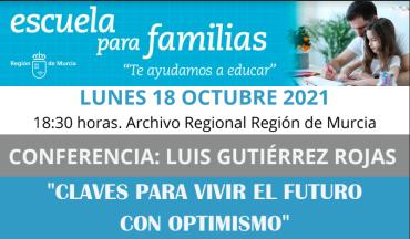 Escuela para Familias: claves para vivir el futuro con optimismo