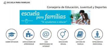 Lista de reproducción de los webminars «Escuela para familias»