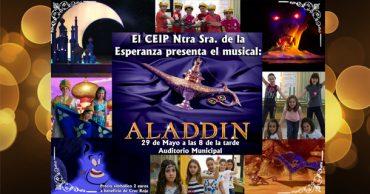 ¡Estrenamos el musical Aladdín!